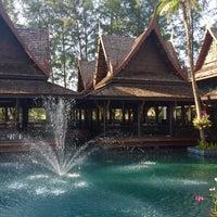Photo taken at Takolaburi Cultural and Spa Resort by E. J. on 12/27/2016