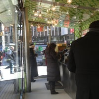 Photo taken at Maoz Falafel & Grill by Felipe P. on 2/18/2013