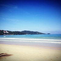Photo taken at Patong Beach by Kaw N. on 7/12/2013