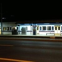 Photo taken at VTA Lightrail Tasman Station by Ivan P. on 7/23/2017
