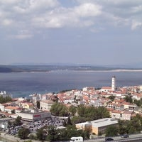 Photo taken at crikvenica by Lucija B. on 6/29/2013