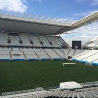Foto tirada no(a) Arena Corinthians por Thiago F. em 6/5/2014