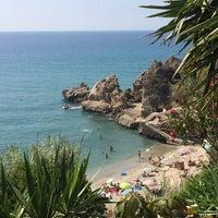 Photo taken at Playa Carebeillo by Cristina G. on 8/22/2014