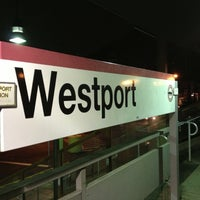 Photo taken at Metro North - Westport Train Station by Seth F. on 11/24/2012