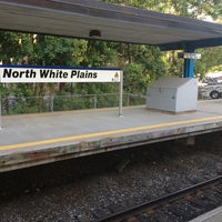 Photo taken at Metro North - North White Plains Station by Seth F. on 5/27/2013