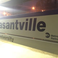 Photo taken at Metro North - Pleasantville Train Station by Seth F. on 5/14/2016