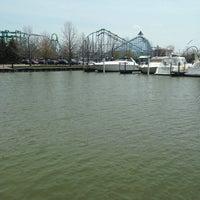 Photo taken at Cedar Point Marina by Dennis B. on 5/8/2014