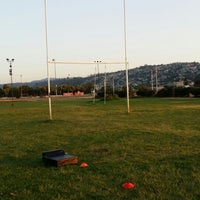 Photo taken at Sporting Rugby Club by Jaime C. on 2/18/2014