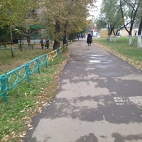 Photo taken at Люблинский мост by Olga B. on 10/10/2014