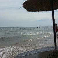 Photo taken at Ibiza Beach Bar by Dora K. on 8/12/2015