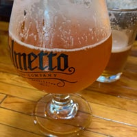 Photo taken at Palmetto Brewing Company by Chris K. on 6/30/2017