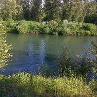 Photo taken at Santiam River Rest Area by Andy d. on 6/3/2013
