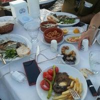 7/6/2016 tarihinde Dilhun D.ziyaretçi tarafından Cunda Deniz Restaurant'de çekilen fotoğraf