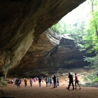 Photo taken at Hocking Hills State Park by Jebual F. on 7/28/2013