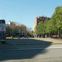 Photo taken at Plaça Catalunya by Viatge per Catalunya on 4/6/2017