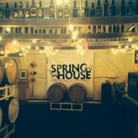 Photo taken at Spring House Brewing Company by Matt S. on 9/28/2013