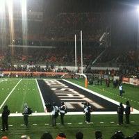 Photo taken at Reser Stadium by Casey V. on 11/18/2012