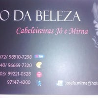 Photo taken at Espaço da Beleza Jô e Mirna by Fernanda F. on 12/11/2014