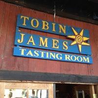 Photo taken at Tobin James Cellars by John T. on 10/21/2012