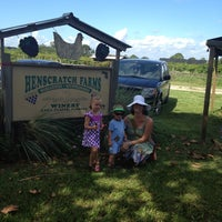 Photo taken at Henscratch Farms by Stefany B. on 8/30/2013