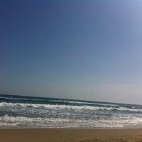 Photo taken at Playa del Tabal_La Manga by Belén R. on 9/15/2013