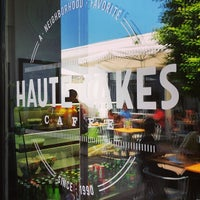 Photo taken at Haute Cakes Caffe by Sandra A. on 7/30/2014