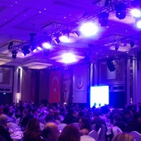Photo taken at Hilton Bomonti Grand Ballroom by Ayşenur Asuman U. on 3/14/2014