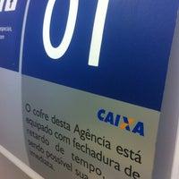Photo taken at Caixa Econômica Federal by Rafael C. on 8/1/2013