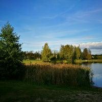 Photo taken at Ozolnieku ezers (Ozolnieki Lake) by Sintija on 9/18/2016