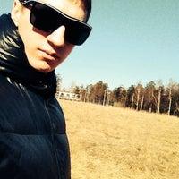 Photo taken at Пролетарский стадион by Blumberg065 on 4/10/2014