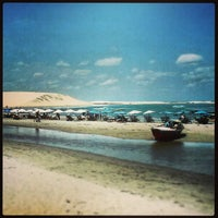 Photo taken at Praia de Jericoacoara by Edison F. on 3/3/2013