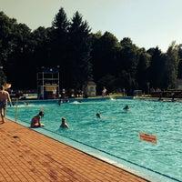 Photo taken at Krytá plaváreň by Konstantin P. on 6/8/2014