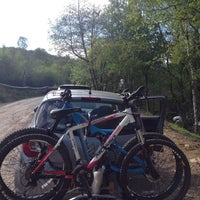 Photo taken at BikeParkWales by Sueli K. on 5/16/2015
