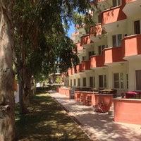 Photo taken at aytaç kavaklı apart motel by Salih Hakan A. on 8/13/2014