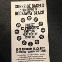 Photo taken at Surfside Bagels by Denise B. on 2/11/2013