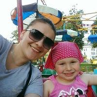 Photo taken at Городской детский парк by Лариса Н. on 5/24/2014