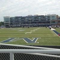 Photo taken at Foreman Field at S.B. Ballard Stadium by Parker L. on 11/2/2013