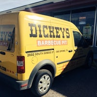 Photo taken at Dickey's Barbecue Pit by Prithvi on 1/16/2014