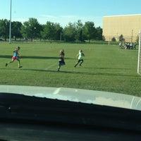 Photo taken at South Dakota State Soccer Fields by Steph B. on 7/28/2013