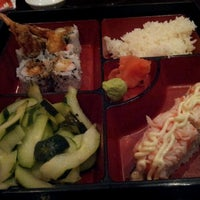 Photo taken at Fire Ninja Sushi by Carrie L. on 11/15/2012