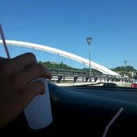 Photo taken at Puente de la Estación by Udane on 7/31/2013