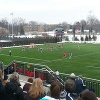 Photo taken at Arlotta Stadium by Brendan M. on 3/9/2013