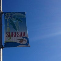 Photo taken at Surfside Beach @ 94th St. by Victoria B. on 10/26/2014