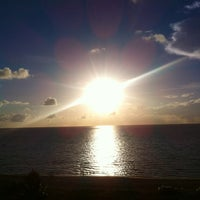 Photo taken at Surfside Beach @ 94th St. by Victoria B. on 8/1/2014