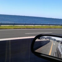 Photo taken at Courtney Campbell Causeway by Dow C. on 10/21/2012
