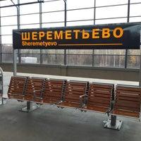 Photo taken at Sheremetyevo International Airport (SVO) by Anna Y. on 10/20/2013