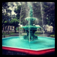 Photo taken at Woodford Square by Guru K. on 1/8/2013