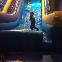 Photo taken at Pump It Up by Erica W. on 2/15/2014