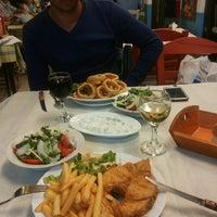 9/20/2013 tarihinde Astilean A.ziyaretçi tarafından Ψαροταβερνα Κουκλις / Kouklis Restaurant'de çekilen fotoğraf