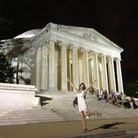 Photo prise au Thomas Jefferson Memorial par Mike B. le7/2/2013